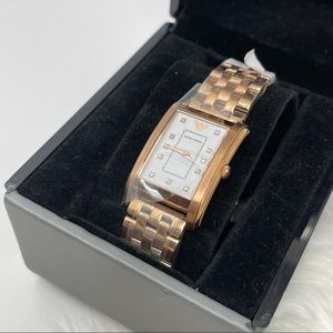 Emporio Armani Rose Gold Classic Whitte Dial Watch